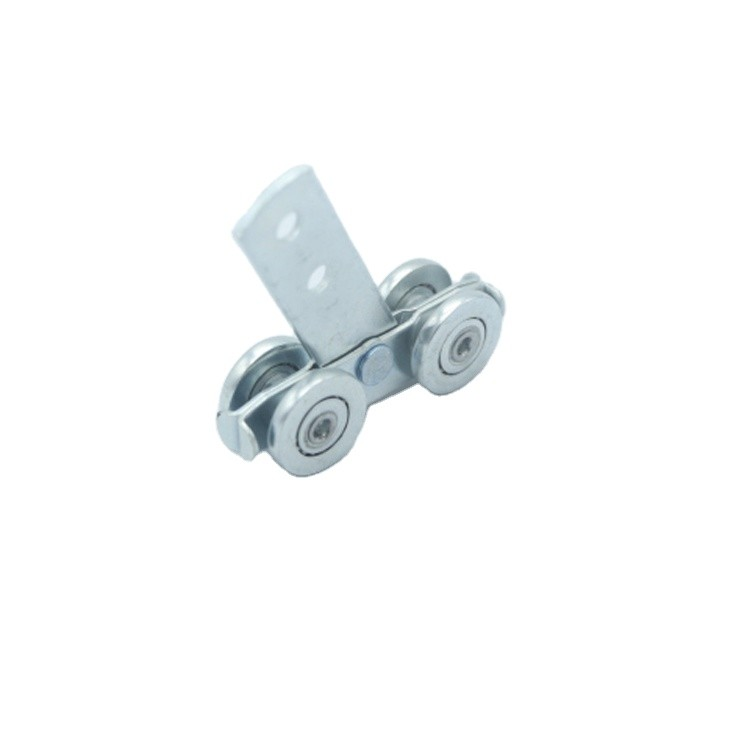 Nylon SteelZinc plated 4 WHEELS SIDE CURTAIN ROLLER