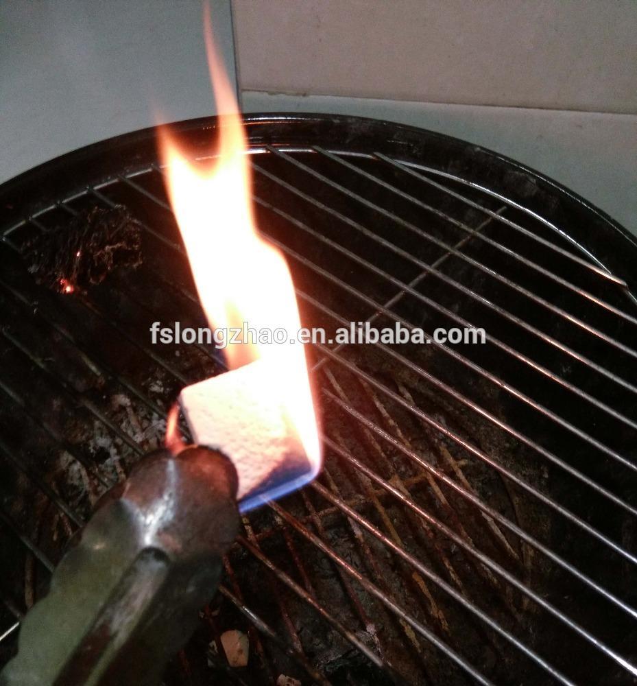 Quick fire starter match bbq fire starter paraffin fire starter