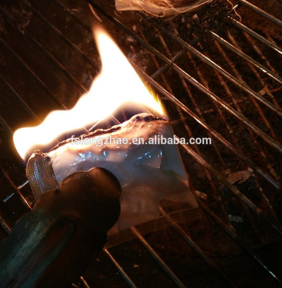 Special design long burning time paraffin paper fire starter