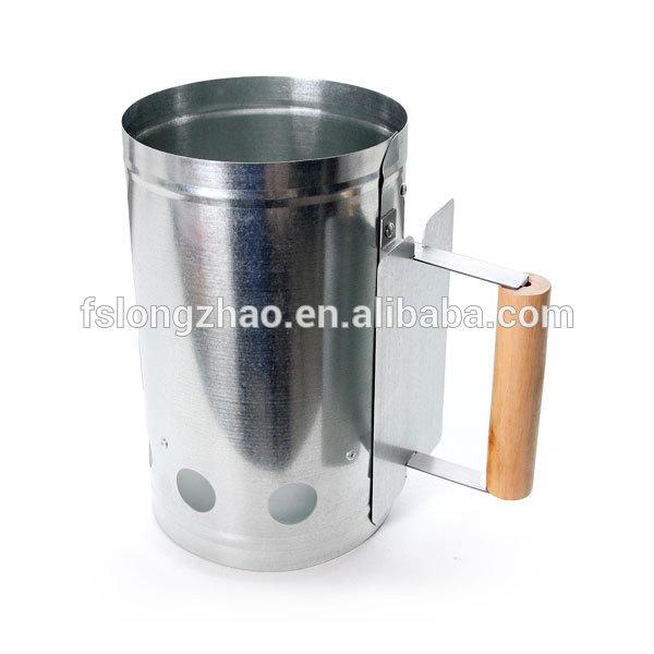New chimney charcoal starter