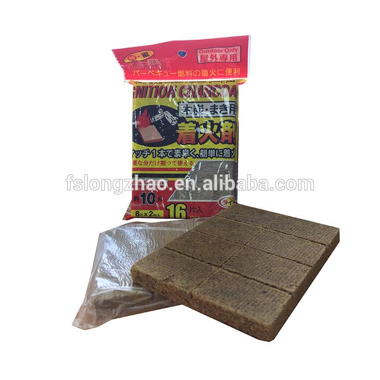high flame waxed wooden firestarter