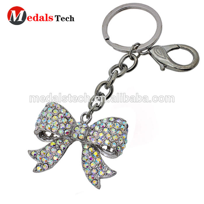 Personalized custom promotional 3d car shape metal keychain with keyring