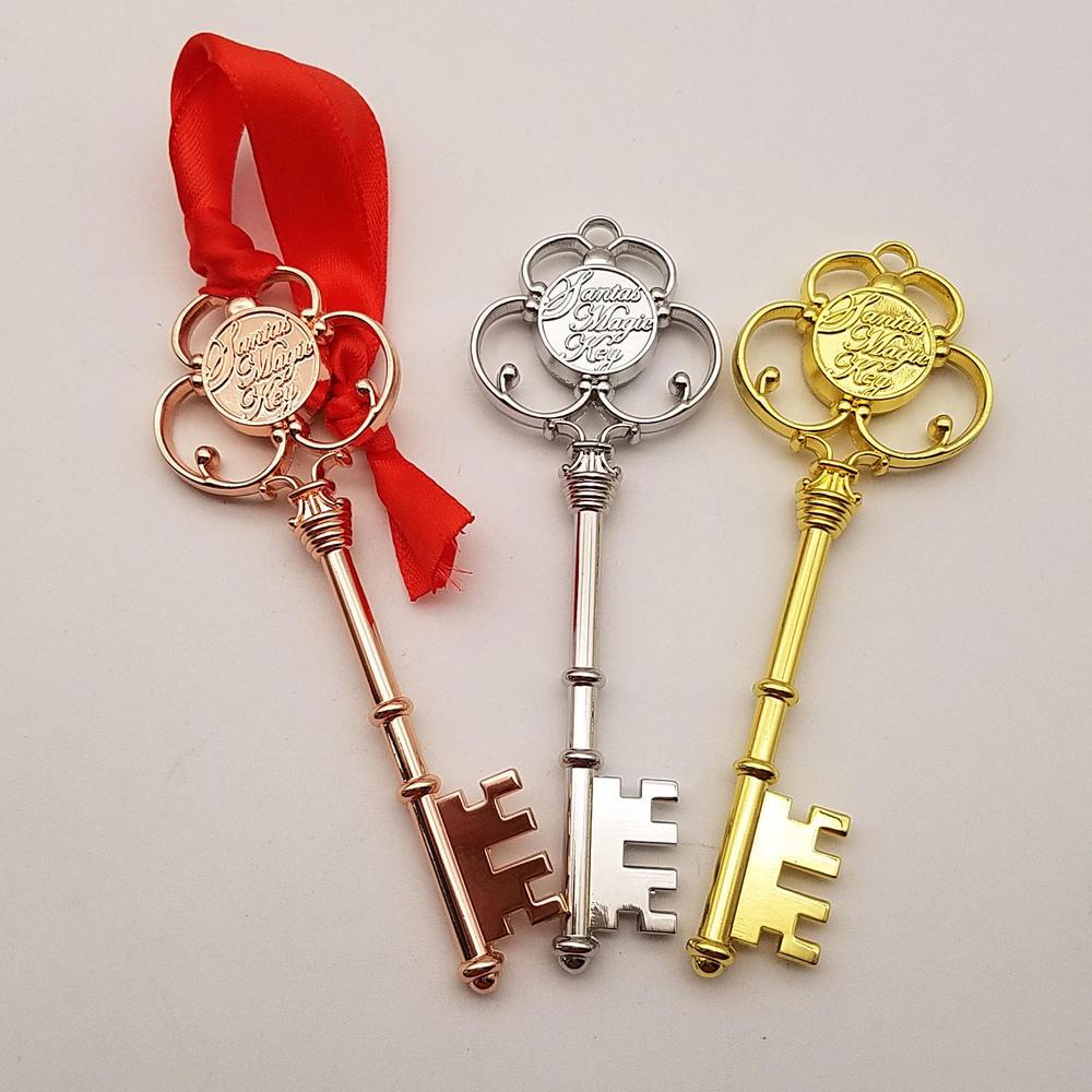 Fashionable Zinc Alloy Christmas Monogram Key for kids gifts,Christmas Key