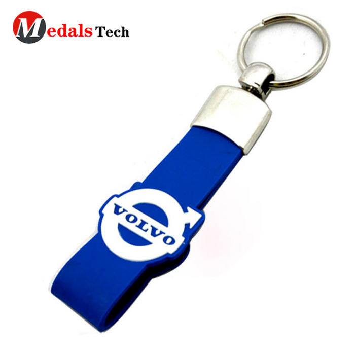 Factory pricecustomized metal 3d logoalphabet keychain