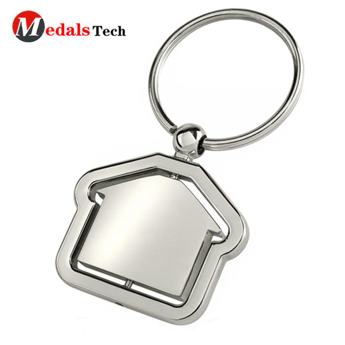 Wholesale high quality hotel keyring,cheap custom metal tank key chain