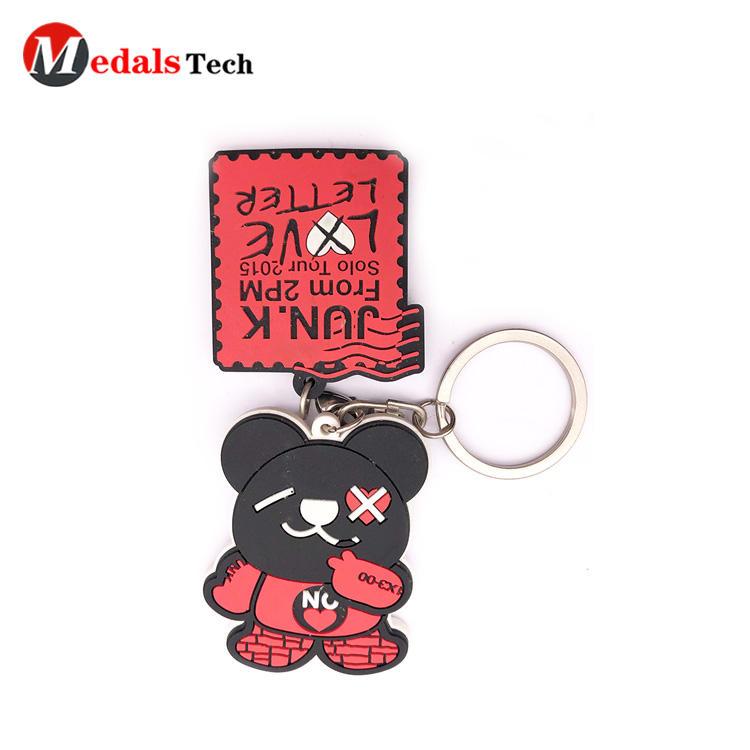 Cheapcustomized madecartoon character softpvc keychain