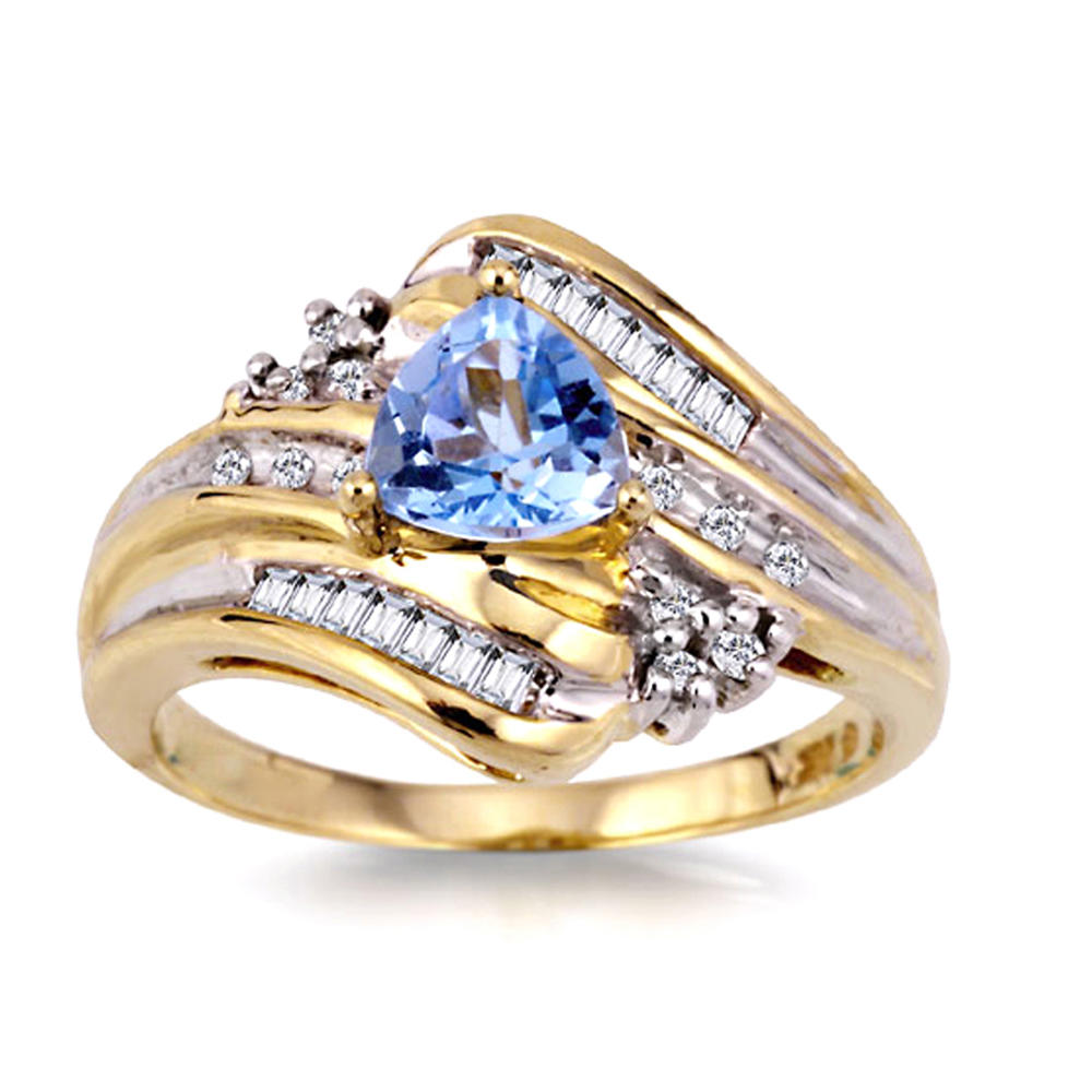 Wholesale Scattered Multi Blue Cz Designs 22K Gold Jewellery Dubai