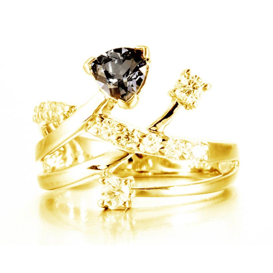 Shiny cz silver wedding turkish gold jewellery designs