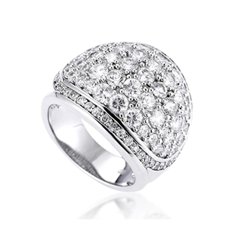 Unique gemstone jewelry girls birthday dresses 18kgp rings