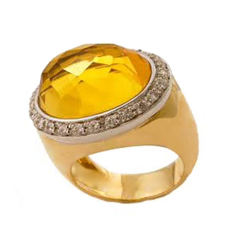 Cheap Fashion Cz Gold Finger Ring Design For Men With Price