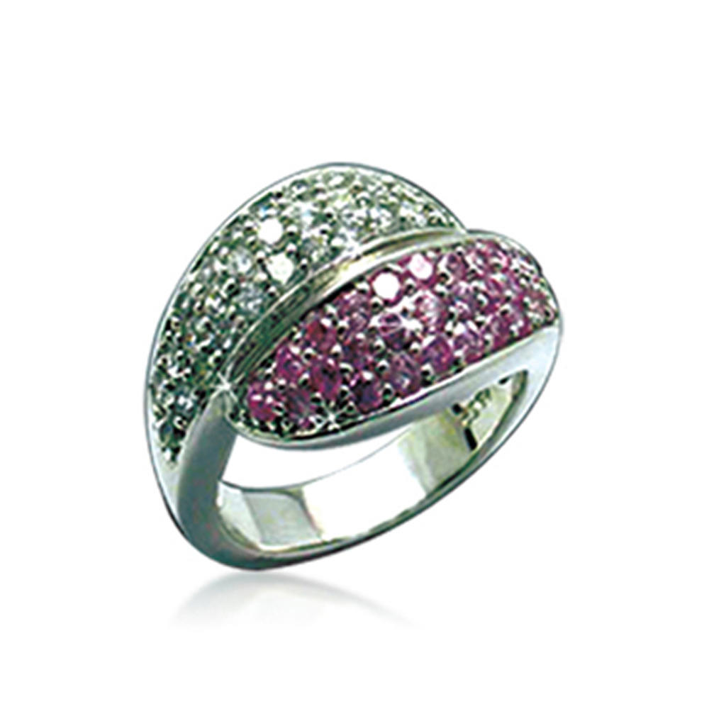 Fancy green and pink tone fashion accessory arabic rings for men