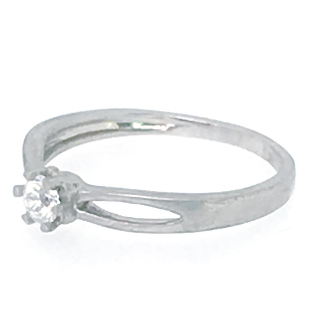 Asymmetry design cz jewellery one gram gold jewelry