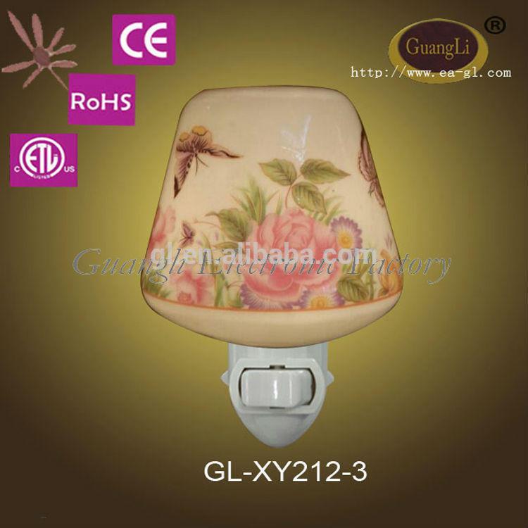 good sale high efficiency ceramic plug in night lights