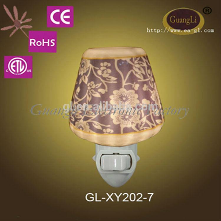 NEW 220-250v energy saver mini ceramic aus plug night lamp led
