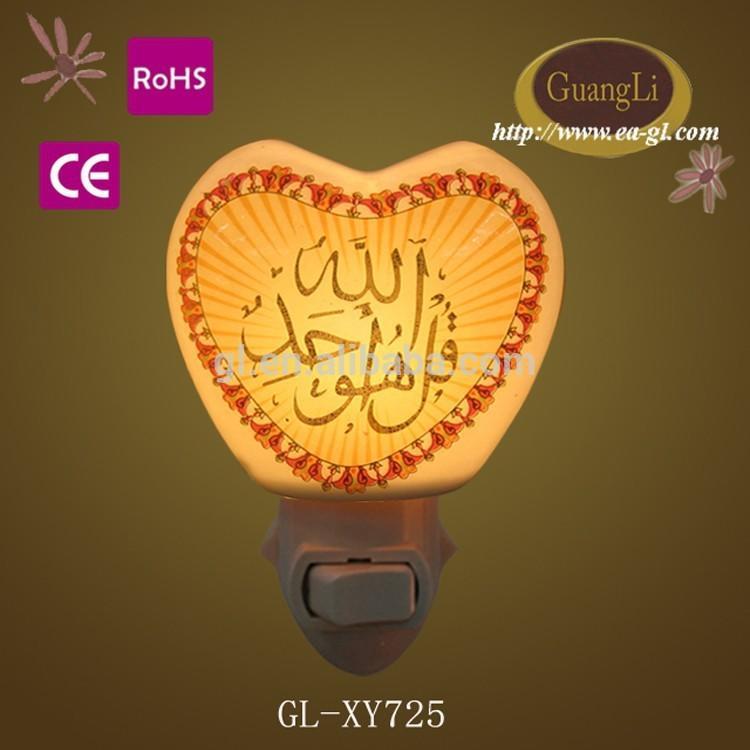 stair way hall way bedroom wall ceramic lamp Islam light