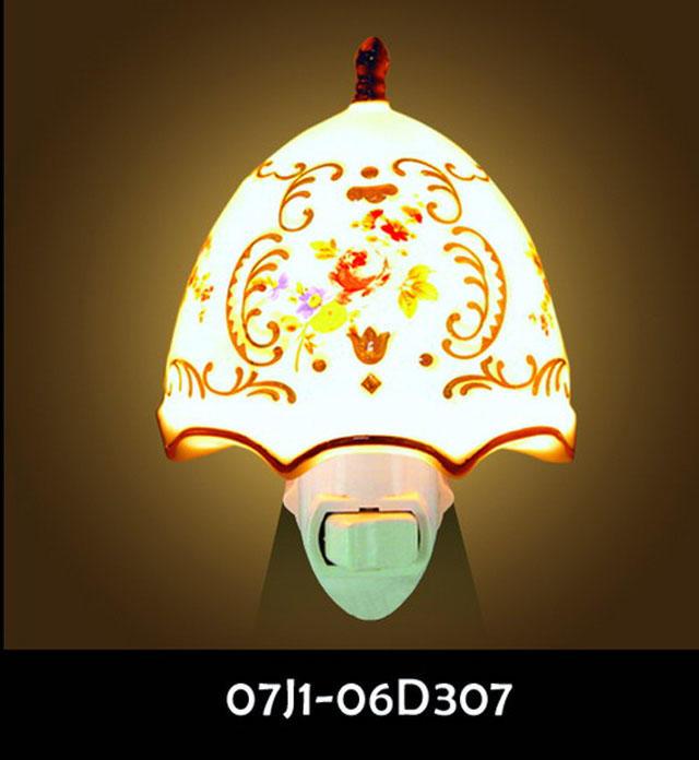 CE ROHS ETL CETL SAA BS PSE Christmas decor ceramic night light aroma lamp electric