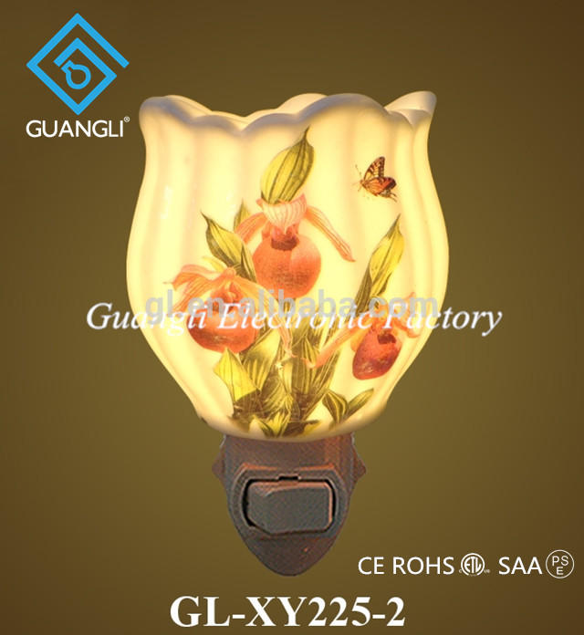 OEM CE ceramic romantic Fragrance Lamp nightlight ETL CB