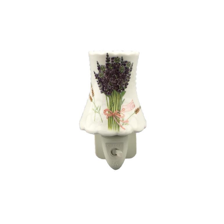 OEMGL-TC25 ETL CE ROHS BS garden flower Ceramic Night light for living room lamp as decoration and good for health