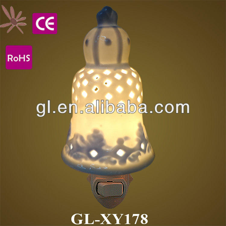 Best selling CE ROHS BS ETL aroma ceramic night light with 110V 220V and 5 W and 7w GL-XY219-2