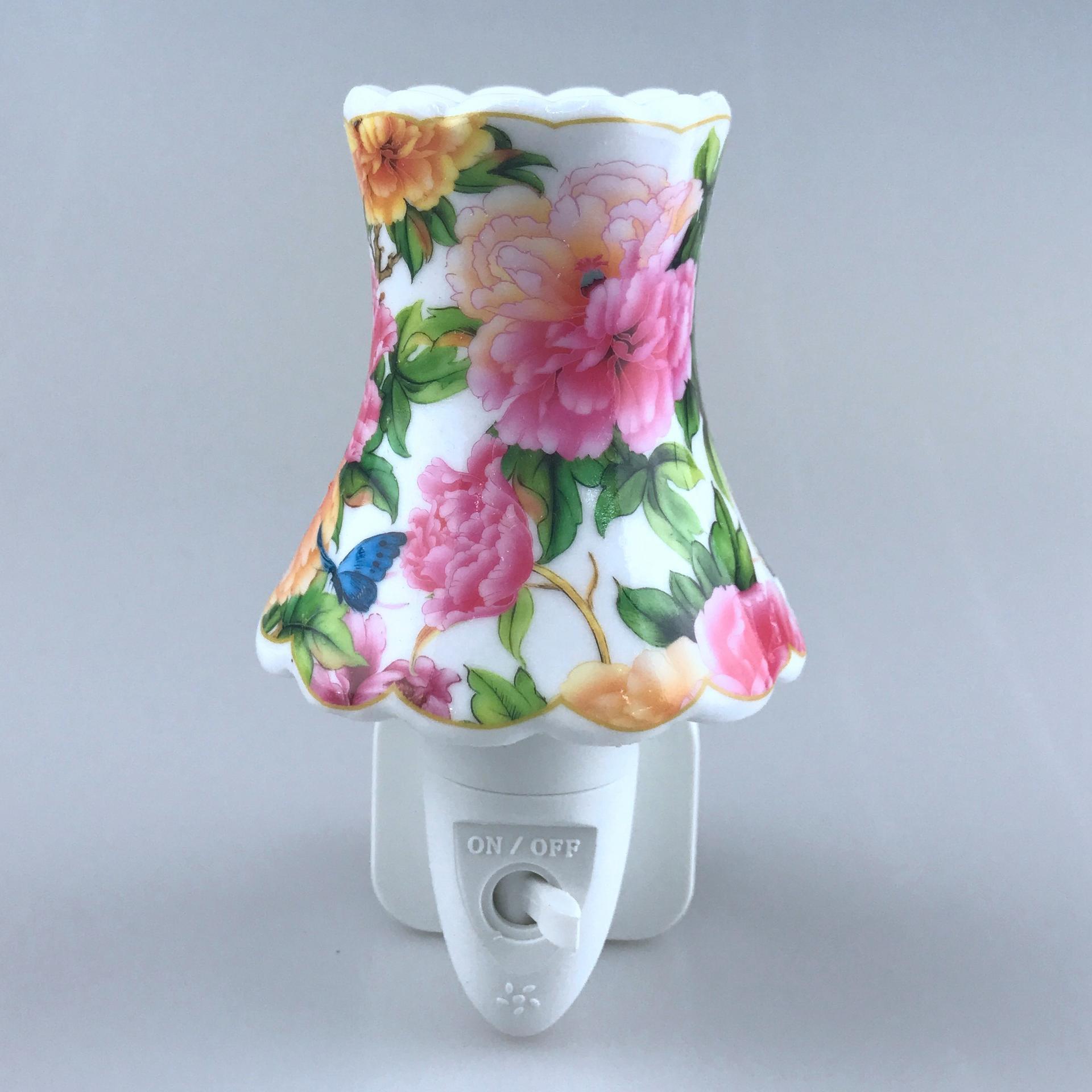 ETL CE ROHS SAA BS night light aroma ceramic bedroom decorative GL