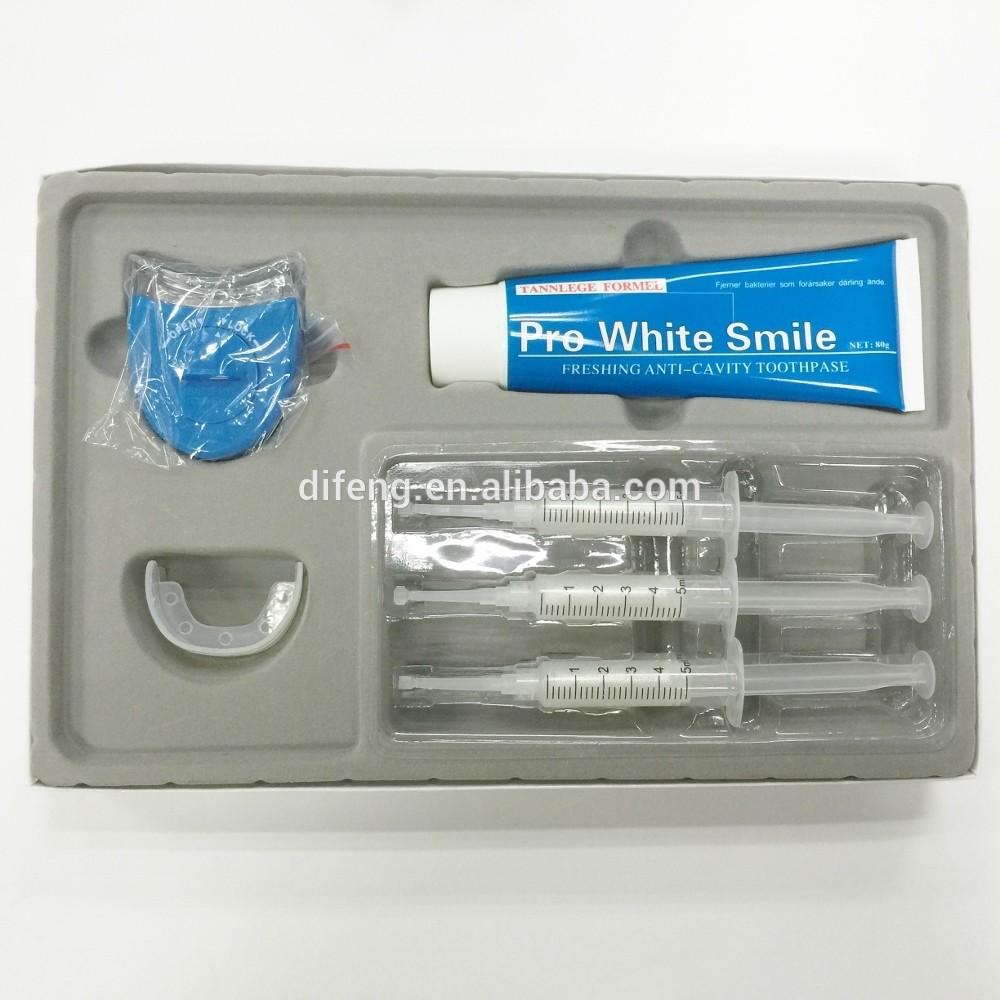 advanced teeth whitening kits with teeth whitening light