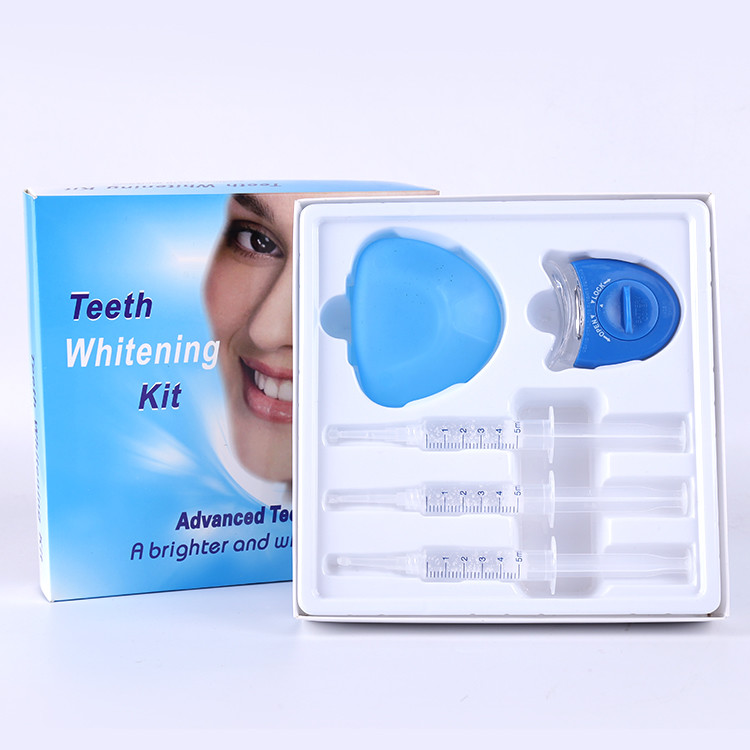 High popularity luxury private label led teeth whitening kit
