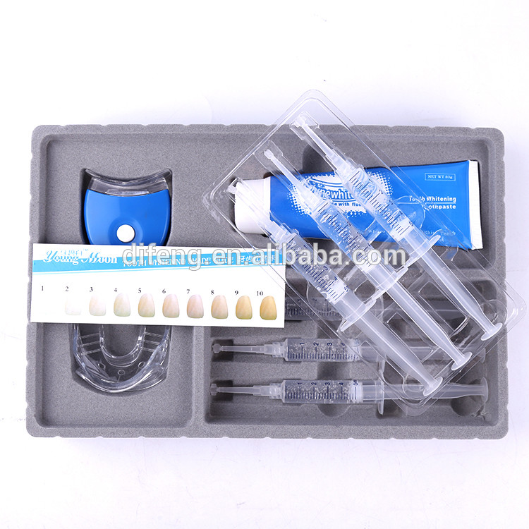 custom made profession Cheap Cleaning care tooth whitening kit/teeth bleaching kit private label teeth whitening kit