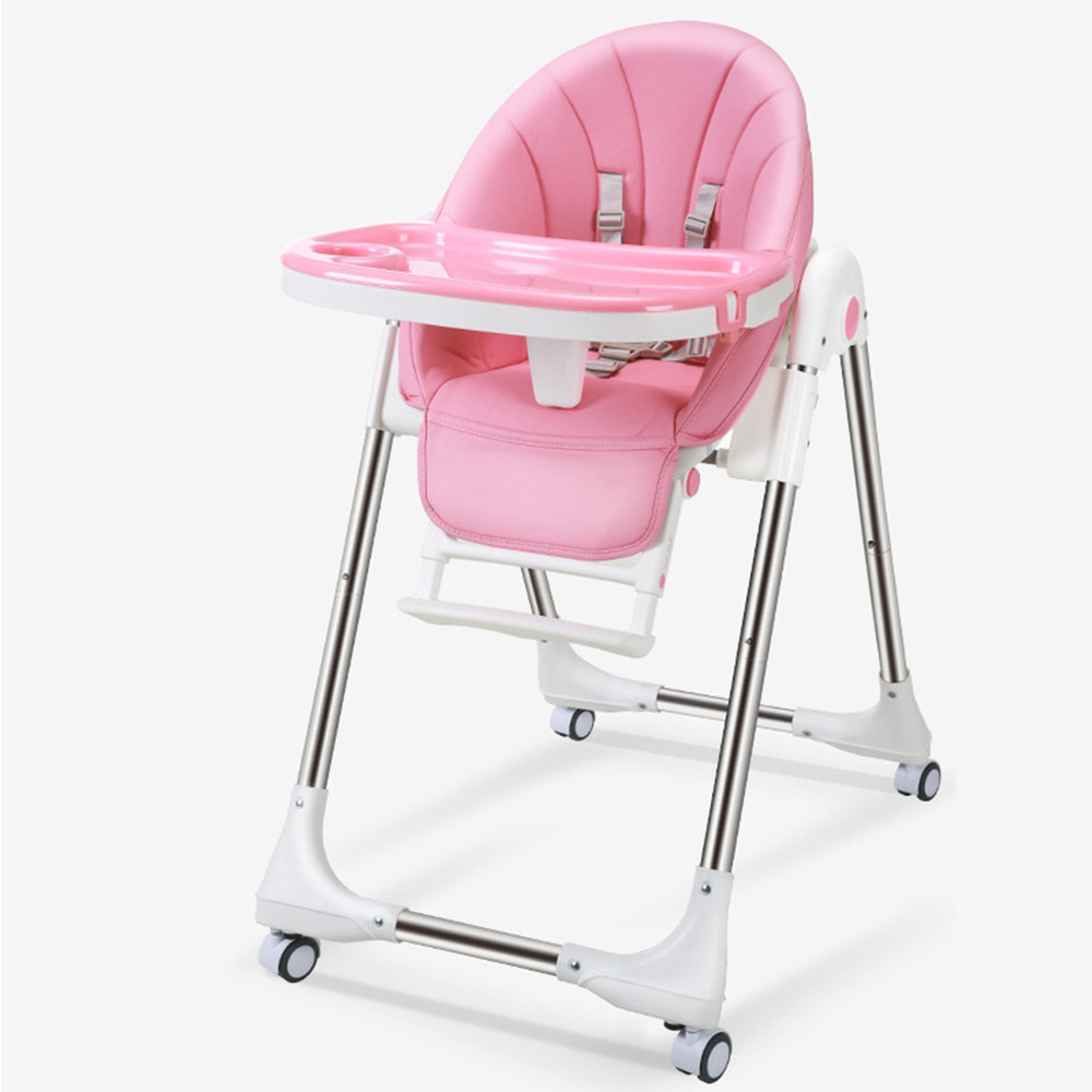 Vcare European Standard Feeding High Chair Baby, Baby Chair With Safety Belt