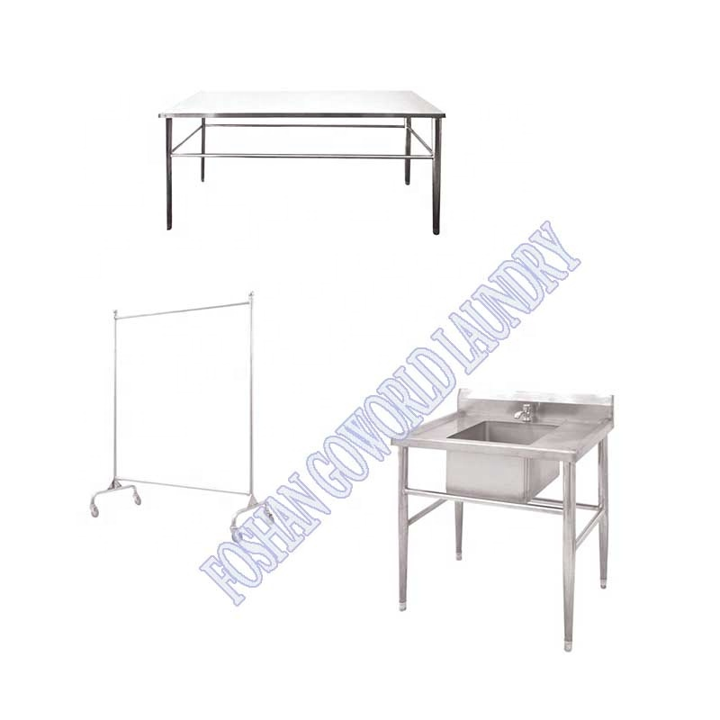stainless steel folding cloth table,laundry table