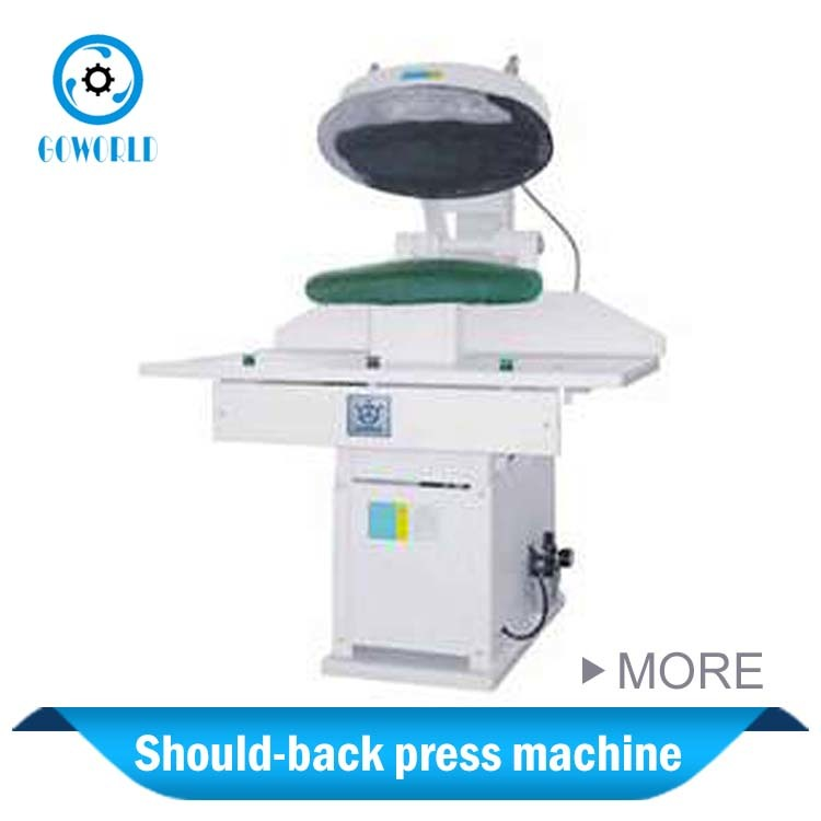 laundry should-back press machine for Mongolia market