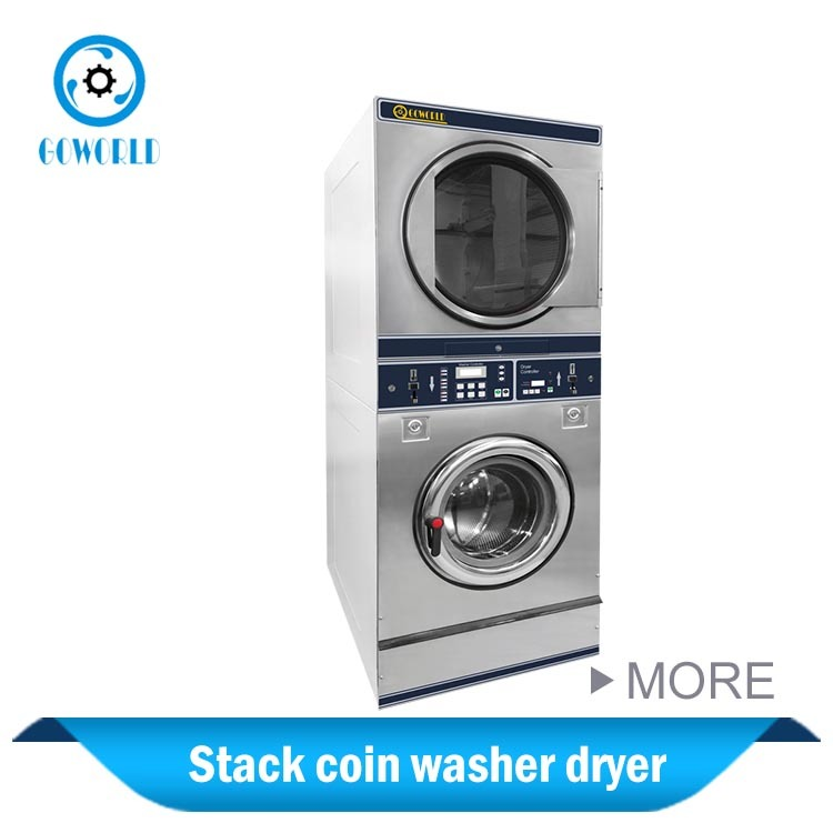 Coin Operating Combo Washing and Drying Machine