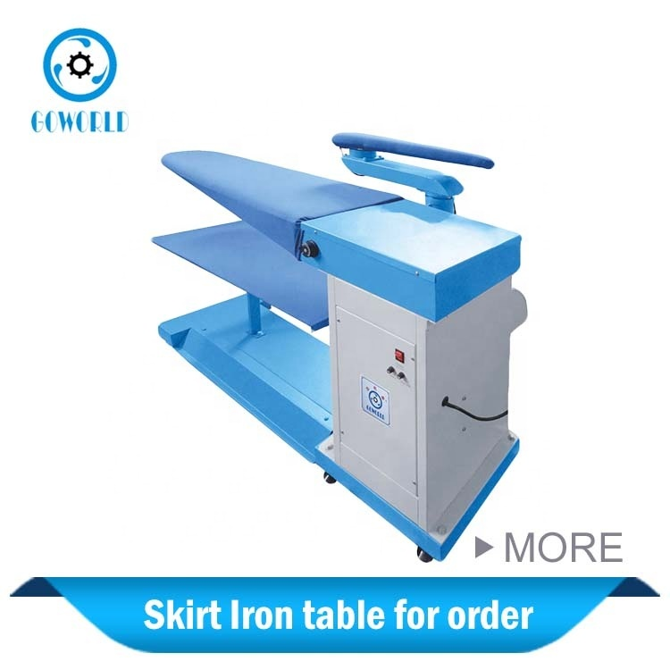 Skirt Iron Table laundry equipment factory