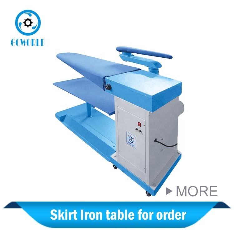 Skirt Iron Table laundry equipment factory