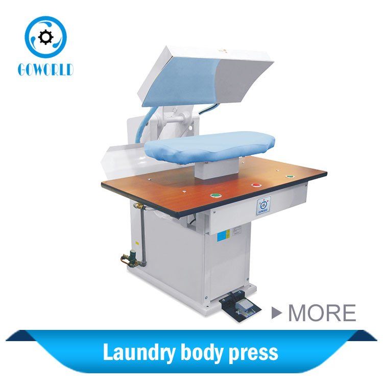 automatic air control dry cleaning press for Malta market