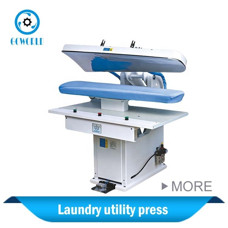 hot sale automatic air control laundry utility press