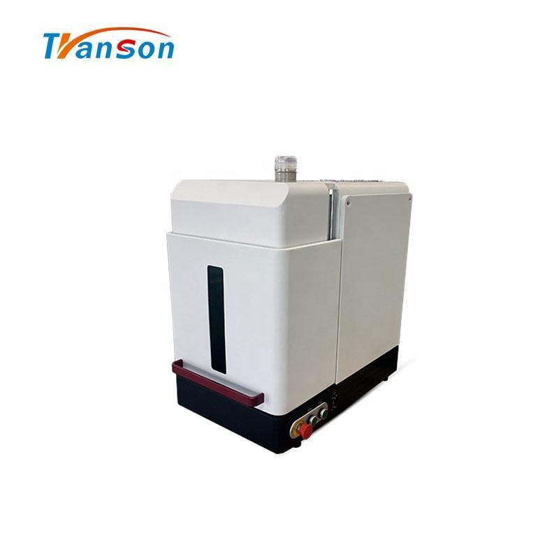 Transon 30W Fiber Mark Machine Enclosed Lazer Mark Cut Engraver Equipment