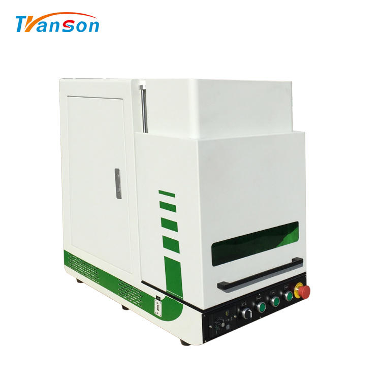 100WHigh Power Enclosed Fiber laser Marking Machine for Metal DesignArt and Craft Diy