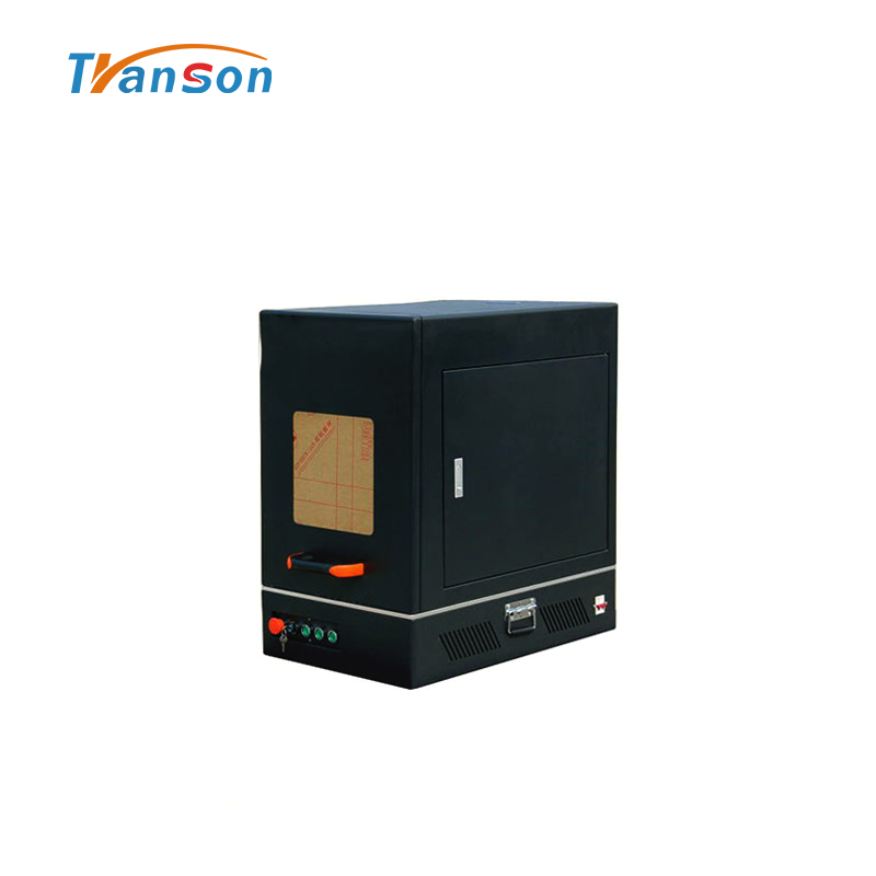High Power 100WEnclosed Fiber laser Marking Machine Mini Type with MAX Laser