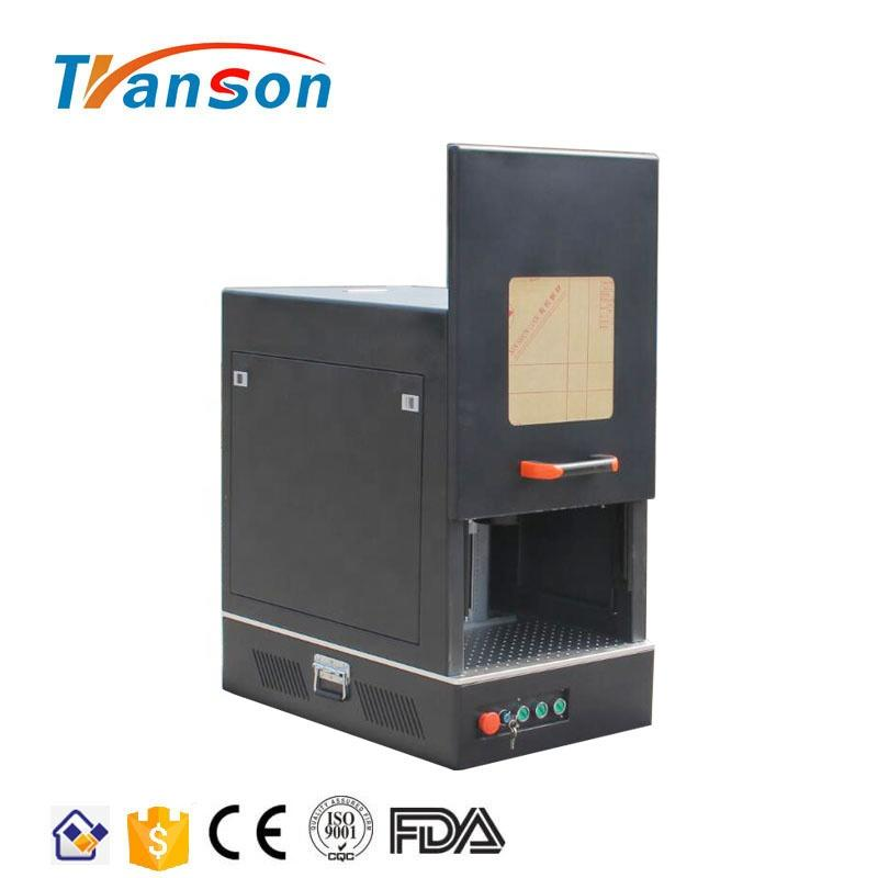 30W Enclosed Fiber laser Marking Machine Mini Type