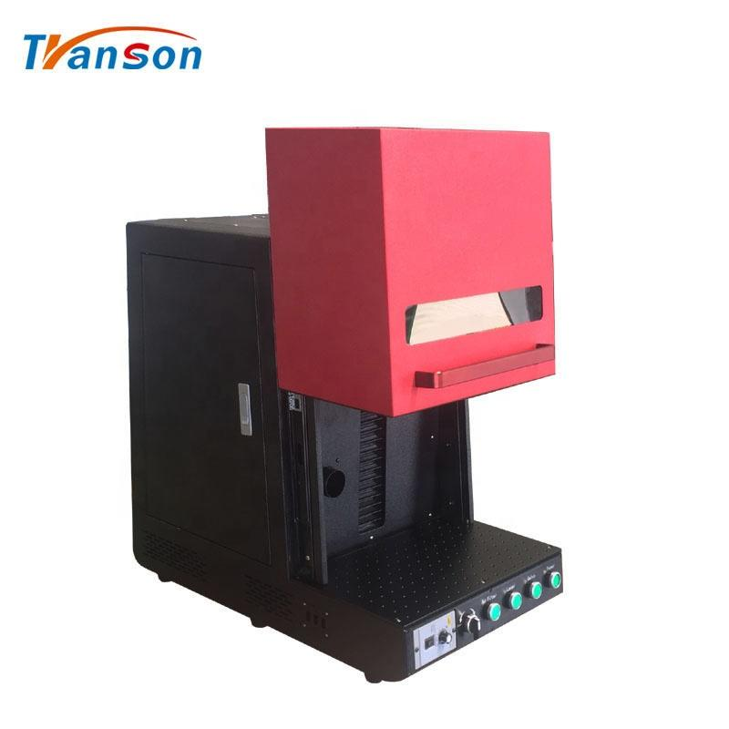China Enclosed Fiber Lazer Marker Machine WithAir Filter 30W For Sale