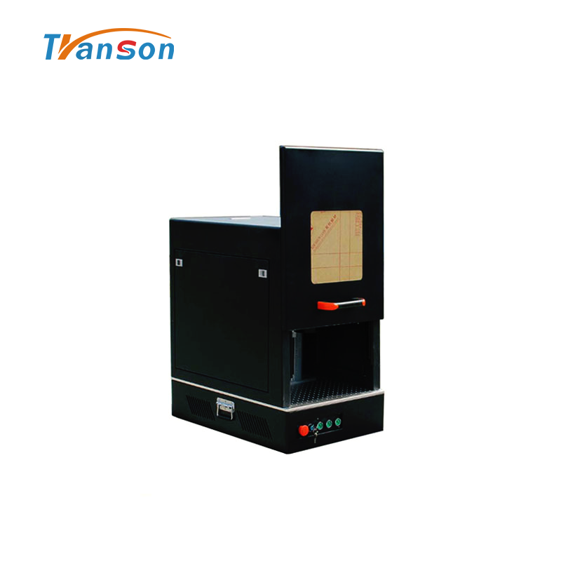 20WEnclosed Fiber laser Marking Machine Mini Type with MAX Laser