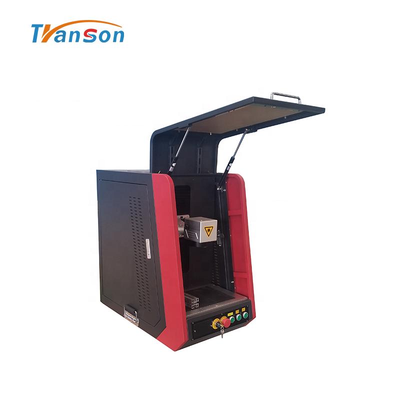 Laser Marking Machine for Jewelry Transon Fiber Enclosed 30W Equipment