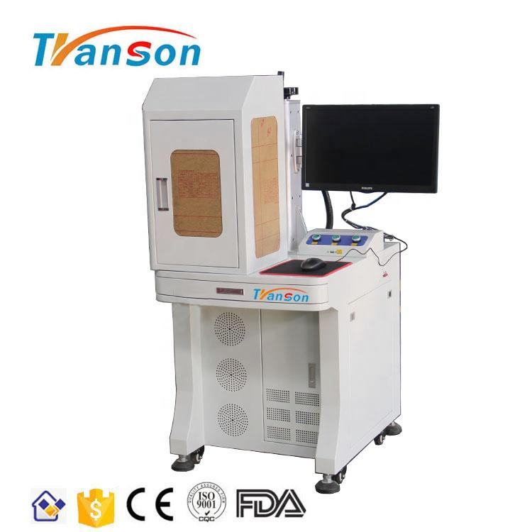 Factory Good Quality 100W Enclosed Fiber Laser Marking Machine Jinan Hot Sale