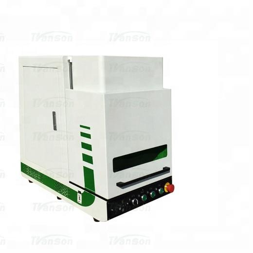 20W Enclosed Fiber Lazer Marking Machine Good ChinaMachine Price laser marking machine for plastic