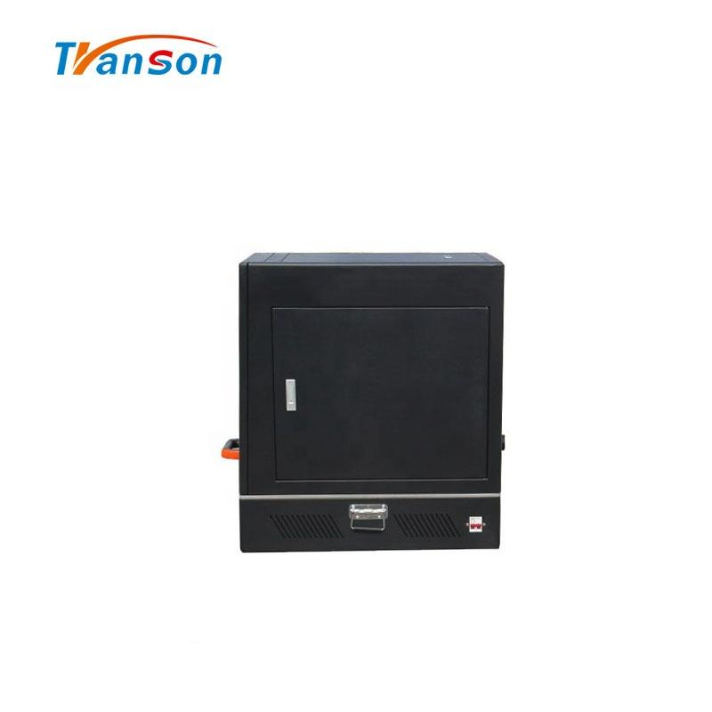 Mini 100W Fiber Laser Marking Machine For Sale Shandong Best Accessories Marker