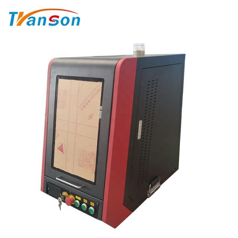 30w Fiber Laser Marking Machine Mini Enclosed BJJCZ Control System Transon