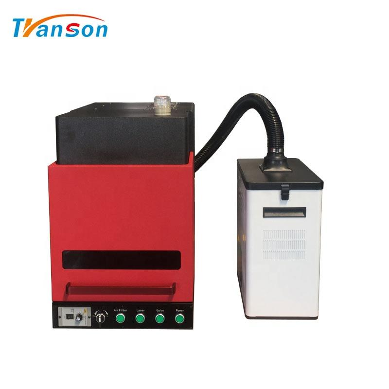 30w Enclosed Fiber Laser Marking Machine With Air Filter