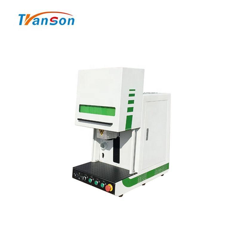 Sale 20W 30W 50W 100W Enclosed White Fiber Laser Mark Cut Engraving Machine