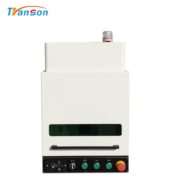 50WEnclosed Fiber laser Marking Machine for DIY Art and Craft Design