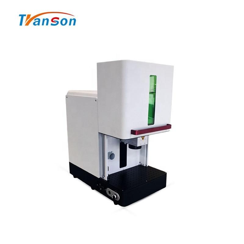 China Enclosed Fiber Laser Mark Cut Engraving Machine 20W 30W 50W 100W